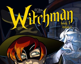 Graphic Novel - Witchman Book 1 Issue 1
