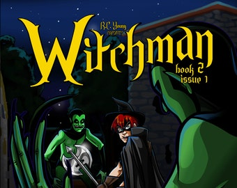 Graphic Novel - Witchman Book 2 Issue 1