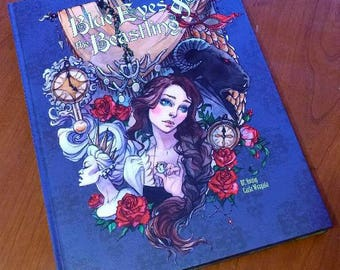 Blue Eyes and the Beastling Standard Edition fairy tale romance graphic novel