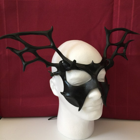 33515c1ad23e SPIDER QUEEN Dark Fairy Sorceress Evil Queen Black Leather | Etsy
