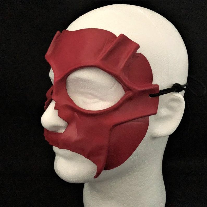 Demon mask Red DEATH MASK BDSM Mask Day of the Dead Mask Devil costume Carnival Mask Masquerade Red Halloween Mask Devil mask