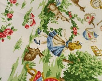 Facric/Japanese /Cotton /Alice In Wonderland