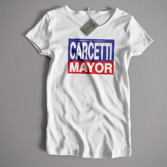 As Seen In The Wire T shirt Carcetti for Mayor Classic Cult   Etsy