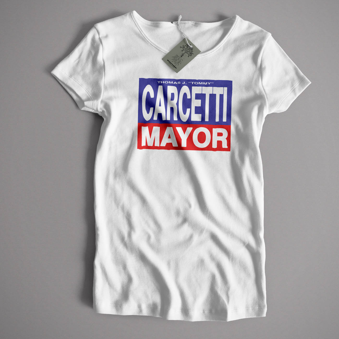 As Seen In The Wire T shirt Carcetti for Mayor Classic Cult | Etsy