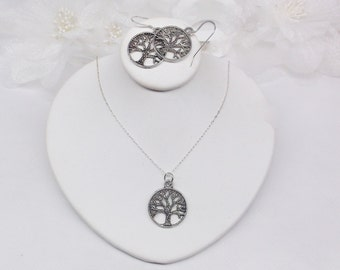 Tree of Life Earrings Tree of Life Necklace Sterling Silver Earrings Amity Divergent Inspired Earrings BuyAny3+Get1 Free