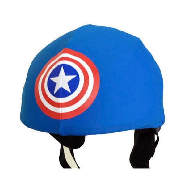snowboard helmet cover Superman Superhero ski helmet cover cycling helmet