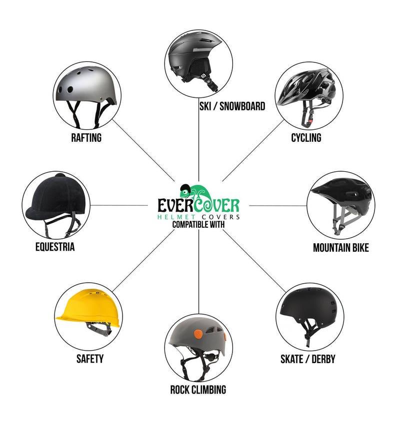 bike and cycling helmet cover rafting helmet cover Joker Evercover ski helmet cover snowboard helmet cover riding helmet cover