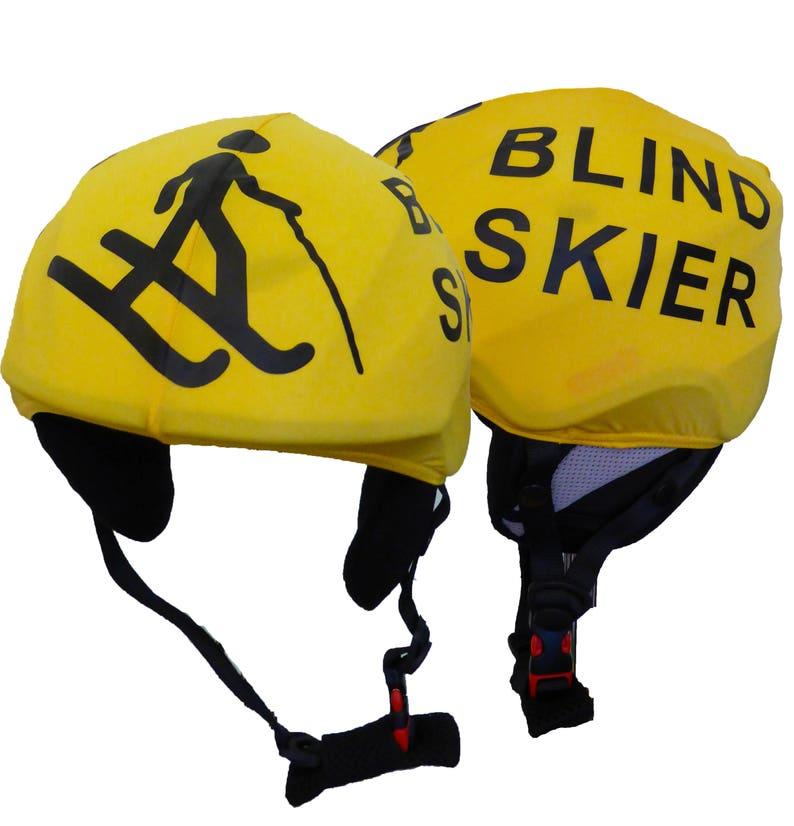 b015ce2b78226 Blind Skier and Blind Skier Guide Evercover ski helmet cover