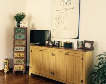 Media Console, Sideboard, Painted TV Stand