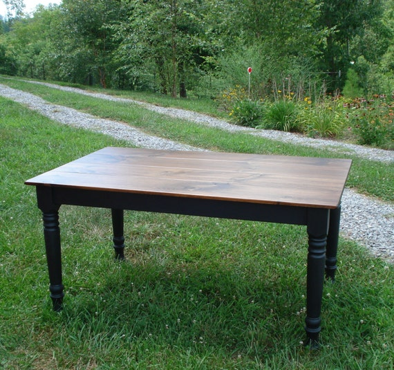 Awe Inspiring Farmhouse Style Table Kitchen Table Black Dining Room Table Theyellowbook Wood Chair Design Ideas Theyellowbookinfo