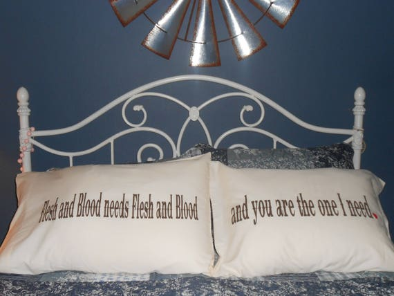 Flesh and Blood Couples Pillowcases