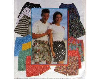 Shorts, Pattern, Simplicity 9057, Men's Shorts, Women's  Shorts, Teen Short, Sportswear