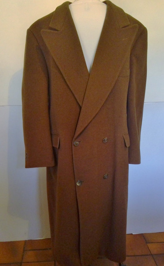 Calvin Klein Mens Wool  Long Coat  Large (mark dow
