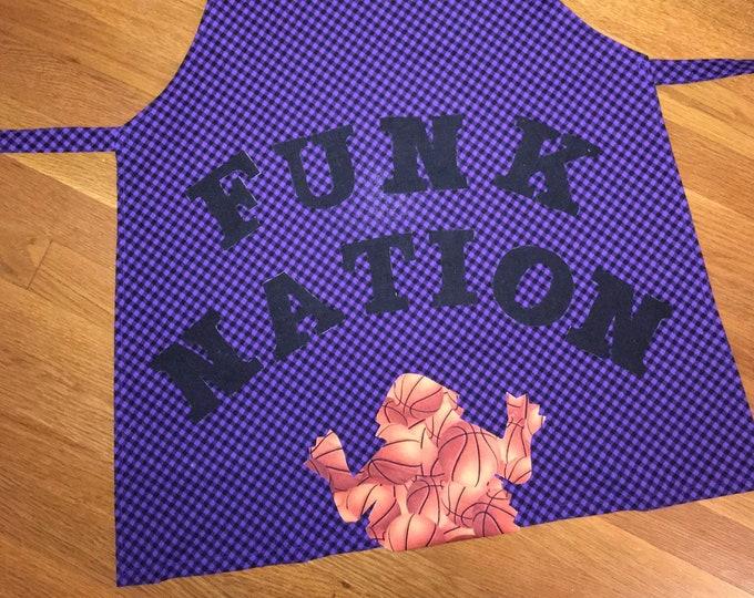 TCU Peekaboo Horned Frog Apron TCU Kitchen tcu home tcu gift funk nation tcu basketball