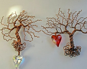Tree of Life  Crystal Suncatcher ~ Two varieties to choose from
