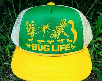Bug Life TODDLER Snapback Mesh Trucker Hat Cap GYW Thug Insects 06409822db86