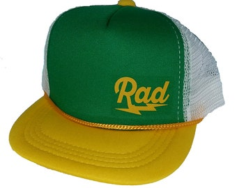 Kid s Mini Rad Radical TODDLER Snapback Mesh Trucker Hat Cap GYW 411700d65064