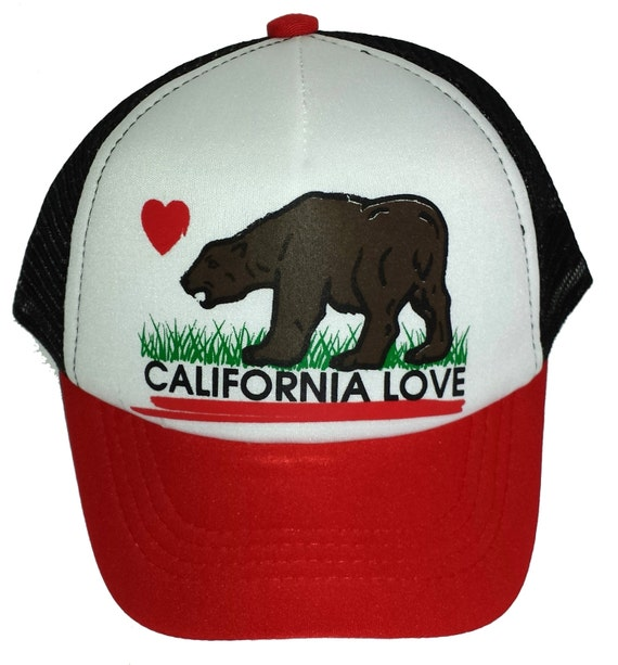 Kid s Youth TODDLER Red Black California Love Mesh  72de349a0a3