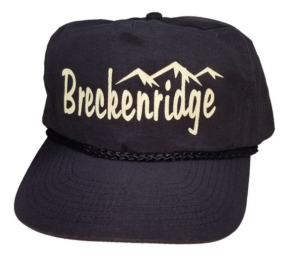1da8cf56e633b Breckenridge Colorado Boardwalk Snapback Hat Cap Ski