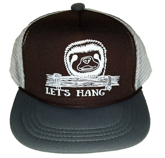 Kid s Let s Hang Sloth TODDLER Snapback Mesh Trucker  cdf4c6c96f09