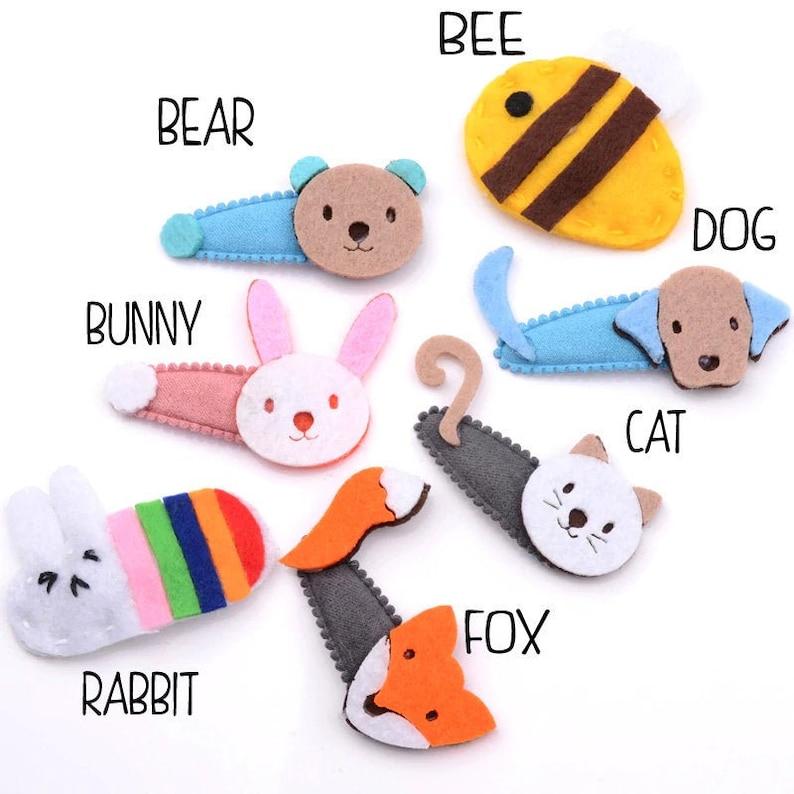 Hairpins  Cat Ears Bunny Barrettes  Cute Hair Clips  Kids Hair Accessories uk
