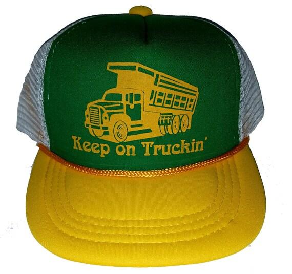Kid s Keep on Truckin  Truck Toy TODDLER Snapback Mesh  633b57ca6751
