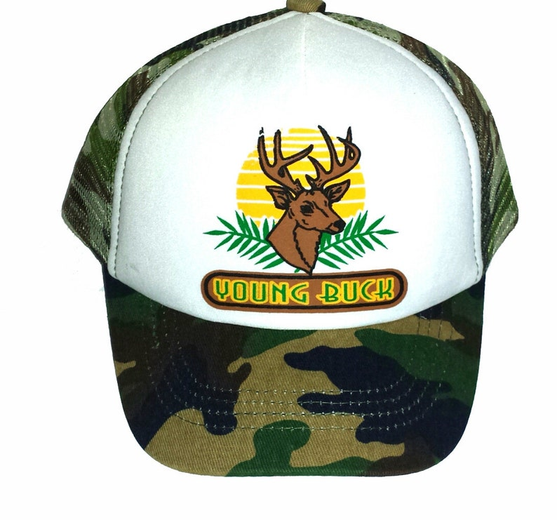 faa203ac598c5 Kid's Youth TODDLER Young Buck Mesh Trucker Hat Cap Camouflage Camo