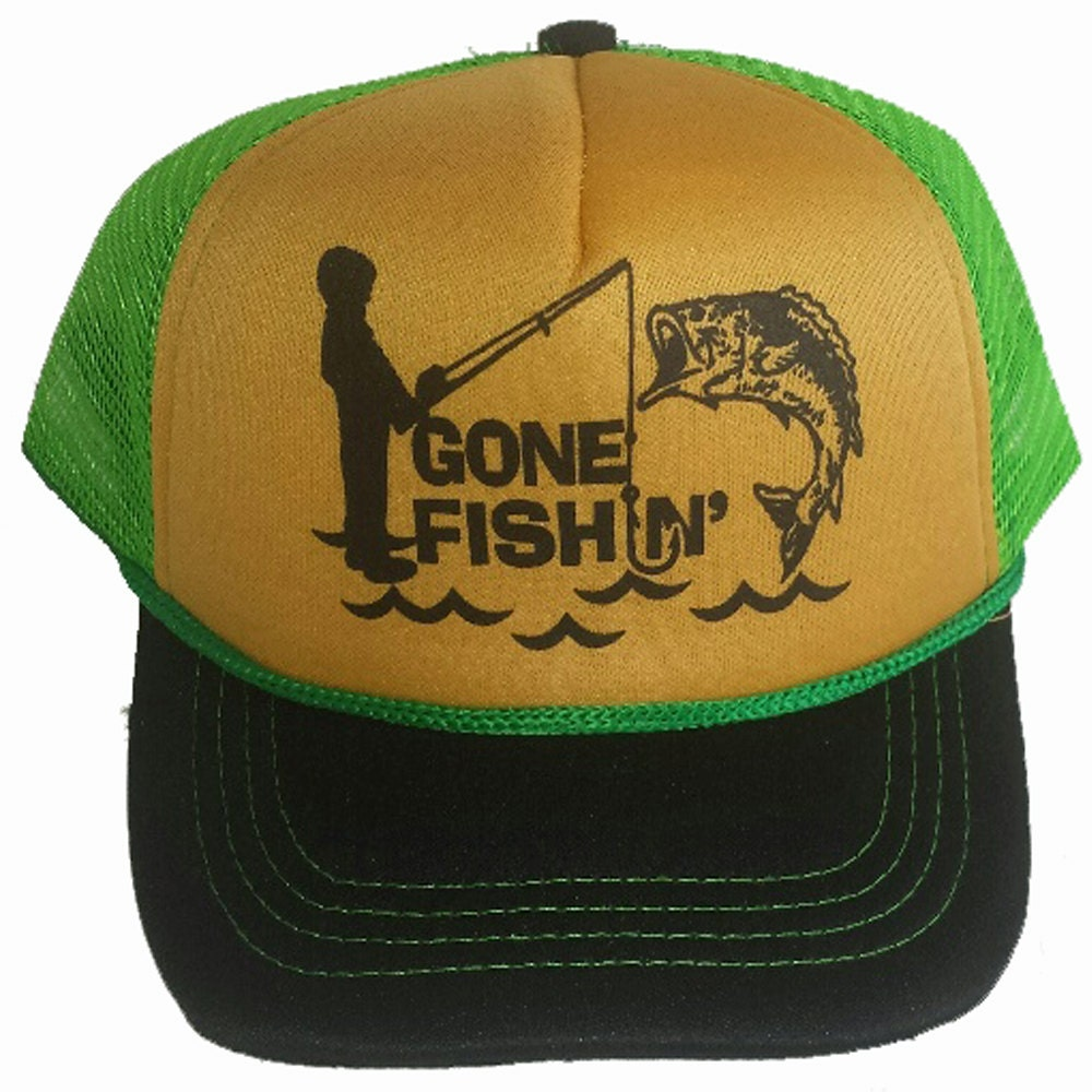 be089c7f16c99 Gone Fishin  Fishing Green 3-24 months Baby Infant Child