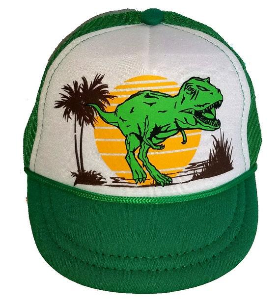 3-24 months Baby Infant Child Dinosaur Dino  Mesh Trucker Hat Cap Snapback Boy