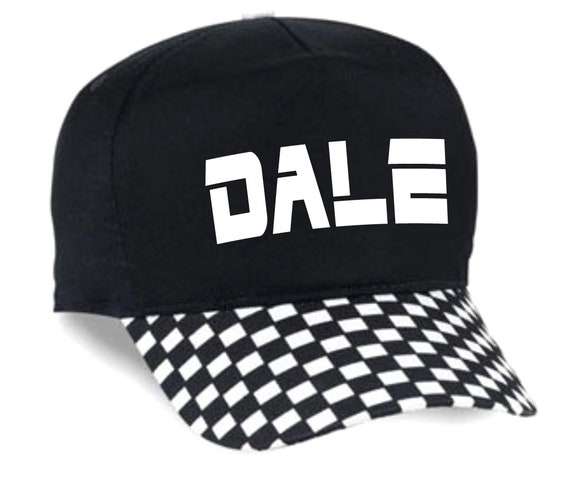 8093e5662d7a9 ... Custom Checkered Adult Boardwalk Hat Cap Design Snapback Personalized  Racing 80 s