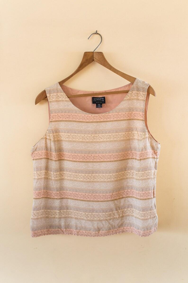 26d8357f2df4b1 Women's vintage silk blouse / Liz claiborne / 100 % silk / | Etsy