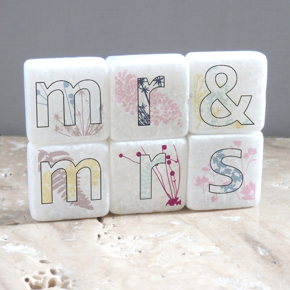 Mr Mrs Decorative Letter Tiles Mr And Mrs Magnets Home Impressive Decorative Letter Tiles