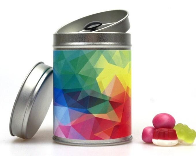 POLYGON I candy tin can
