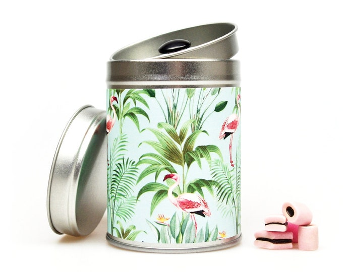 FLAMINGO Gift Tin Florida Key West