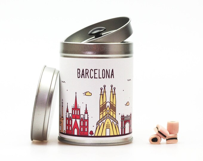 BARCELONA Gift Tin