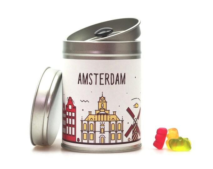 AMSTERDAM Tea Caddy