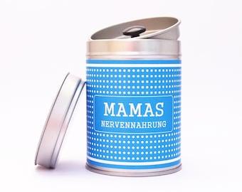 MAMAS Nervennahrung Tea Caddy