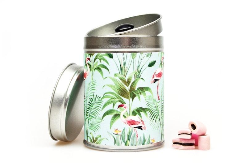 FLAMINGO Gift Tin Florida Key West image 0