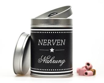 NERVENNAHRUNG Tea Caddy