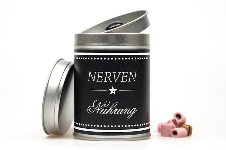 NERVENNAHRUNG Tea Caddy image 0