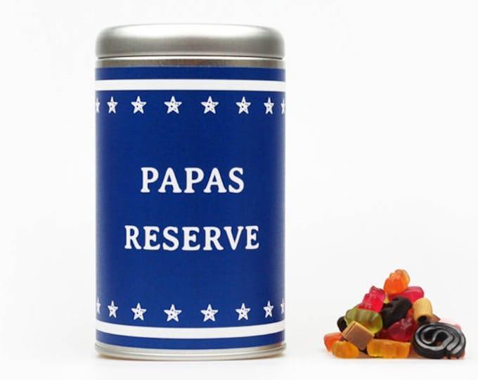 "PAPAS RESERVE ""Dein Text"" XXL Geschenkdose"
