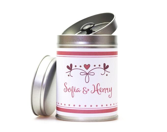 """Wedding Gift Box """"Flamingo"""" customizable"""