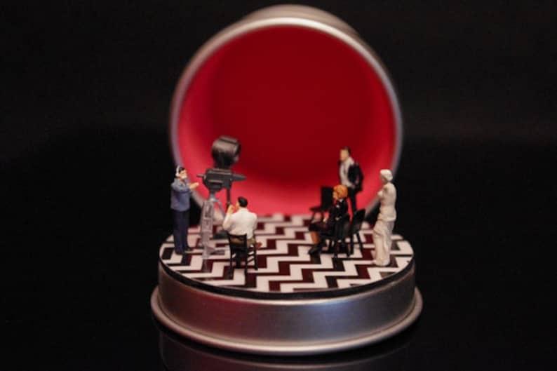 RED ROOM Twin Peaks Diorama customizable image 0