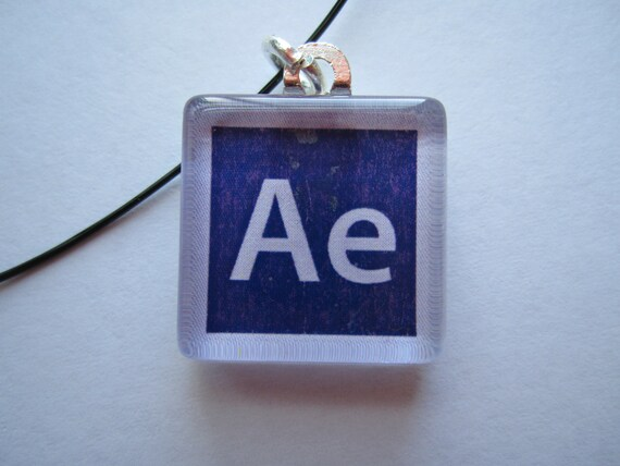 after effects glass tile necklace adobe design cs6 etsy rh etsy com