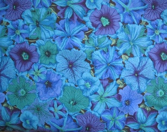 Petunias by Phillip Jacobs, a Kaffe Fassett Collective fabric from Westminster Rowan
