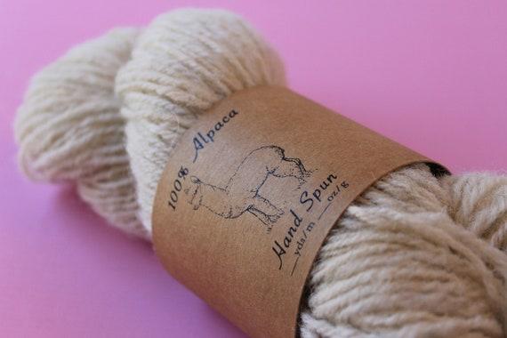 Printable PDF Huacaya Alpaca Tags for Hand Spun Yarn