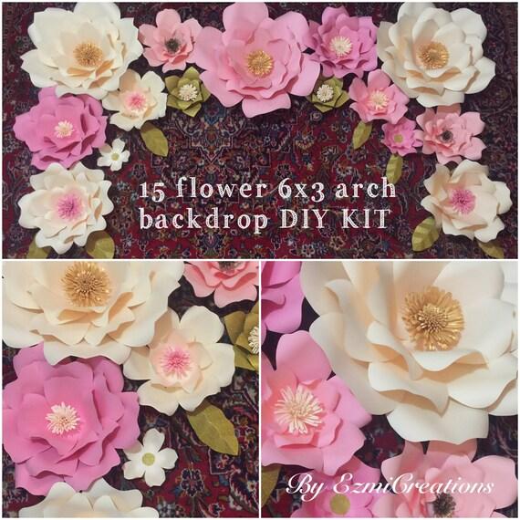 Sale Paper Flower Diy Kit Please Read Description Before Etsy