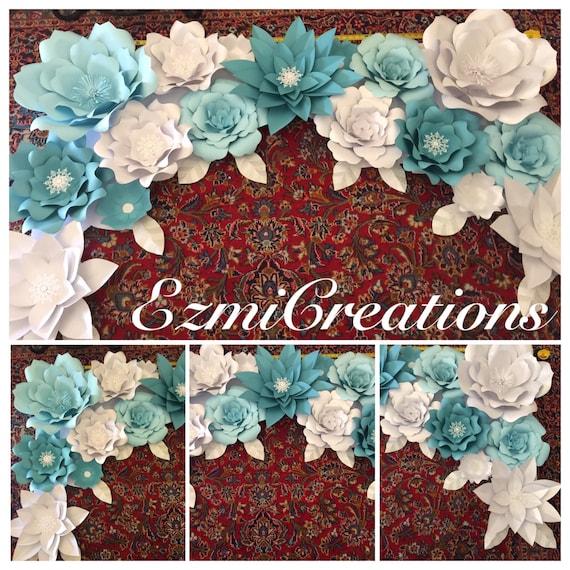 3b9e5273b Paper flowers backdrop DIY kit please read announcement in