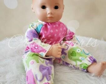 9eddcd8b1 Baby Doll Pajama Set for 15 inch doll Ready to Ship