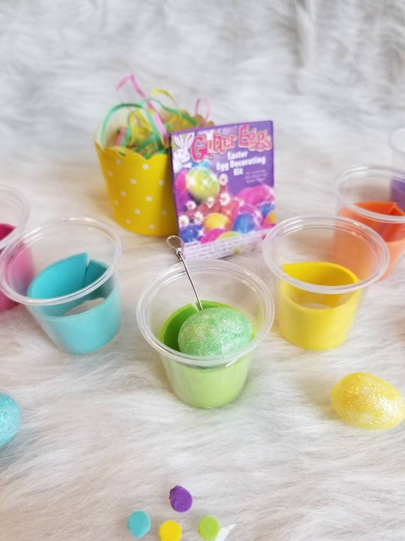 Mini Easter Egg Coloring Kit for 18 inch doll READY TO SHIP